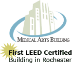 Medical Arts Building: First LEED Certified Building in Rochester